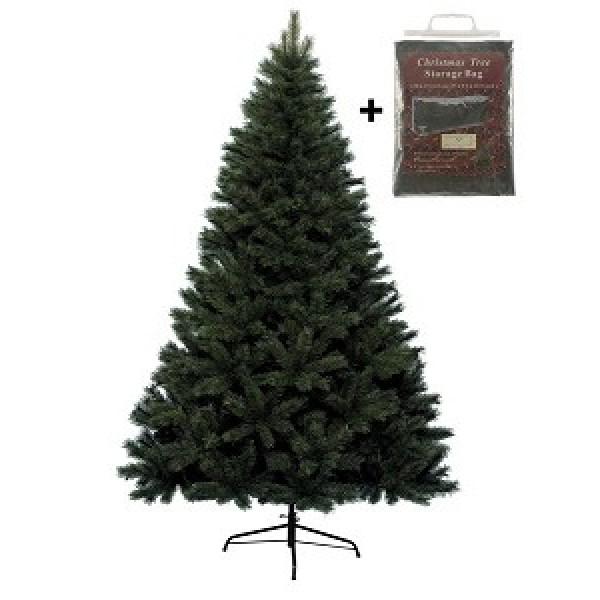 Everlands Imperial Pine Kunstkerstboom 150 cm met opbergzak | Kerst ...