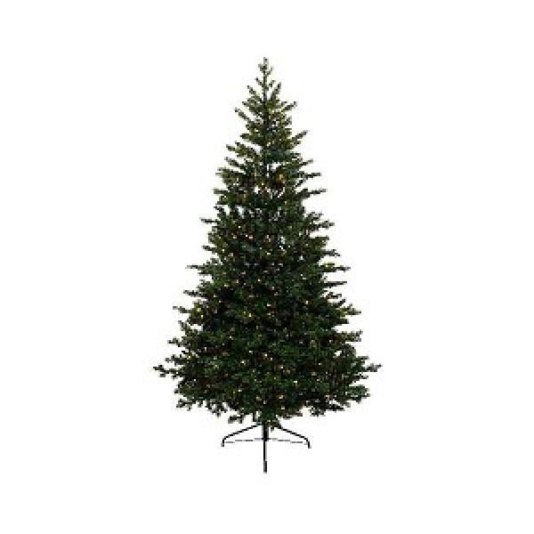 Everlands Kunstkerstboom Allison Pine 180cm met verlichting 320 LED ...