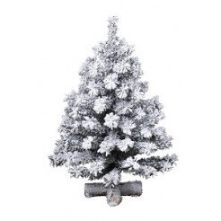 Everlands Mini kerstboom Toronto snowy 90cm