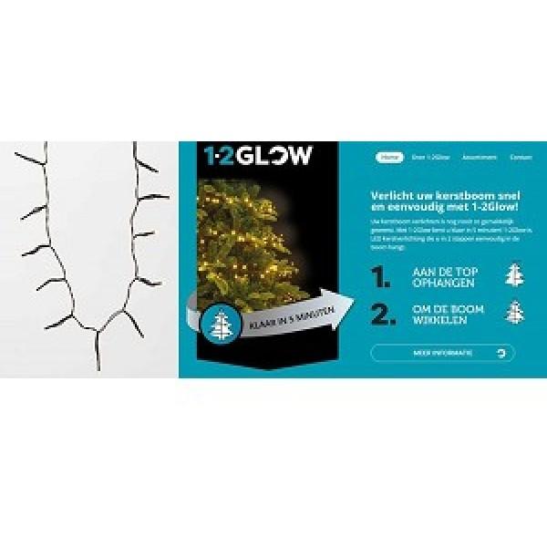 Kerstverlichting 1 2 Glow Voor 180cm Boom 171 Led Classic Warm Wit