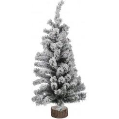 Kerstboom met sneeuw 90 cm