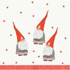 Duni Servetten Nordic santa 3-laags tiss