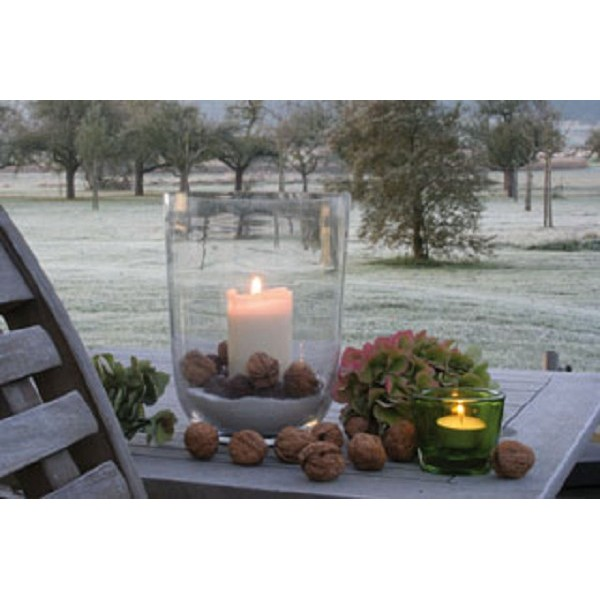 Windlicht Led Outdoor Canvas 40x60 3xaa Kerst Specialist