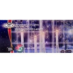 Kerstverlichting ijspegels wit 360 LEDs