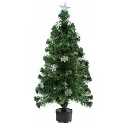 Kerstboom met fiberverlichting 120cm