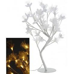 Bloemenboom met fiberverlichting 45cm