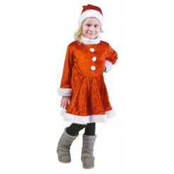 Kinder kerstpak meisjes 7-9 jaar