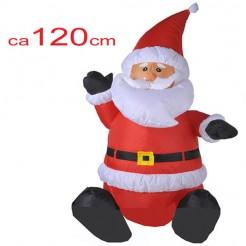 Kerstman 120cm opblaasbaar