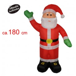 Kerstman 180cm opblaasbaar